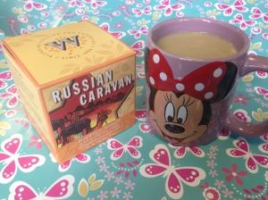 Russian Caravan tea in my Minnie Mouse mug :)
